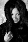 Marie Lussignol, modèle pour la marque Pilepoil