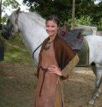 Marie Lussignol, paysanne dans la série Merlin,BBC
