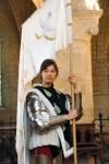 Marie Lussignol dans le rôle de Jeanne d'Arc, EWTNproduction
