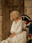 Marie Lussignol dans le rôle de Madame Royale dans la pièce les enfants duTemple