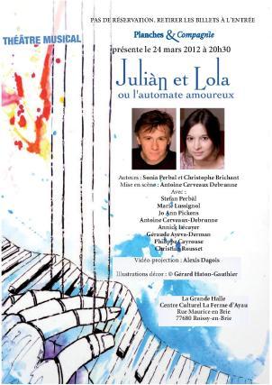 Julian et Lola ou l'automate amoureux