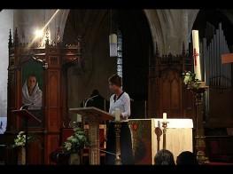 lecture-concert, sous le signe de la croix